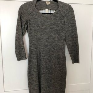 Wilfred Aritzia Gray Fitted Dress Size S